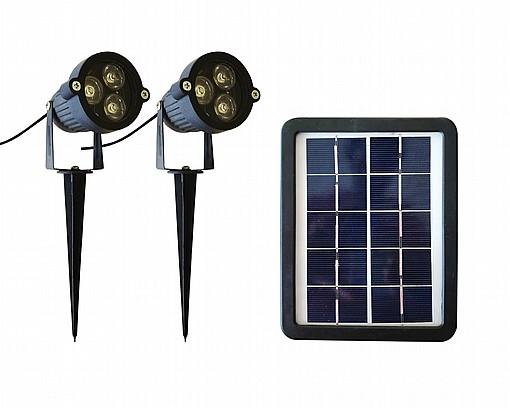 מרענן גופי תאורה לד לתאורת חוץ-ספוטים סולאריים לגינה תאורה סולארית חזקה WP-78
