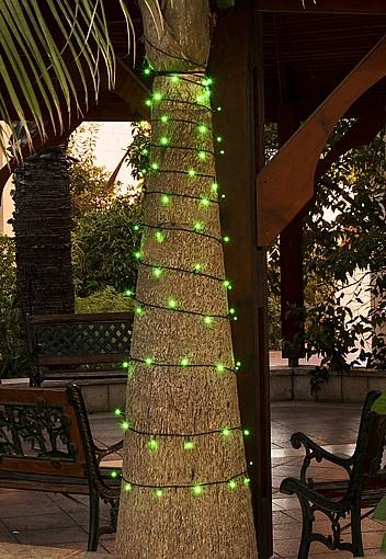 מגניב ביותר שרשרת תאורה לסוכה או לגינה - גרילנדה סולארית - BeGreen AV-44