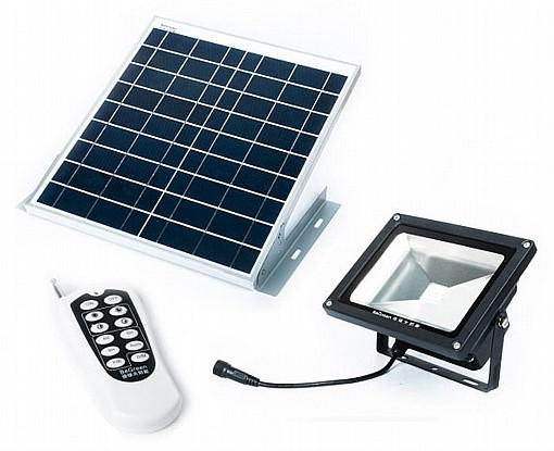 מעולה פרוז'קטור לד סולארי 10 וואט | תאורת הצפה סולארית | ללא תשתיות SL-69